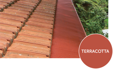 Terracotta mesh on Clay Tile roof